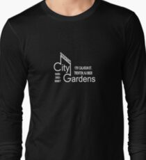 City Gardens - Punk Card Tee Shirt (v 2.1) Long Sleeve T-Shirt