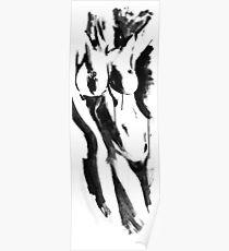 half nude Poster