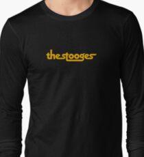the stooges black Long Sleeve T-Shirt