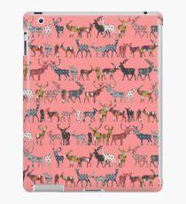 spice deer blush salmon iPad Case/Skin