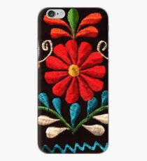 Butterflies and a Red Flower iPhone Case