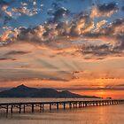 Playa De Muro Sunrise by Jim Wilson