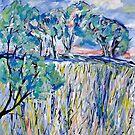 Grass and Sun by Julie-Ann Vellios