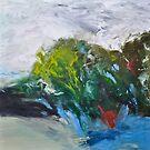 Winter Day - Leura Shadows by Julie-Ann Vellios