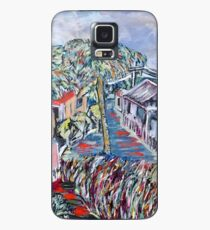Tiles and Glass, Trees and Grass Case/Skin for Samsung Galaxy