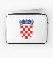 Coat of arms of Croatia Laptop Sleeve