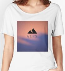Alps T-shirts coupe relax