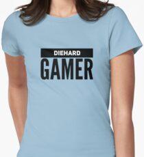 Diehard Gamer Women's Fitted T-Shirt