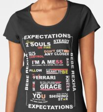 EXPECTATIONS ERA [BEBE REXHA] Women's Premium T-Shirt