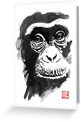 chimpanze by pechane