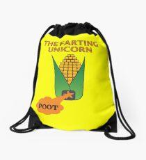 The Farting Unicorn - Tesla safe Drawstring Bag