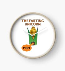 The Farting Unicorn - Tesla safe Clock