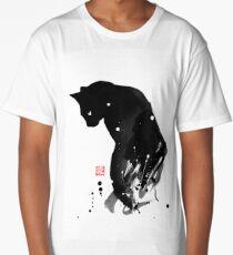 spot cat Long T-Shirt
