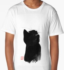 cat up Long T-Shirt
