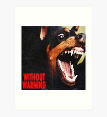 without warning 21 savage x offset x metroboomin Art Print