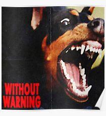 without warning 21 savage x offset x metroboomin Poster