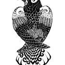 Raven Totem Variant I by Jezhawk