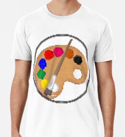 Painter Palette #1 • by RootCat Men's Premium T-Shirt