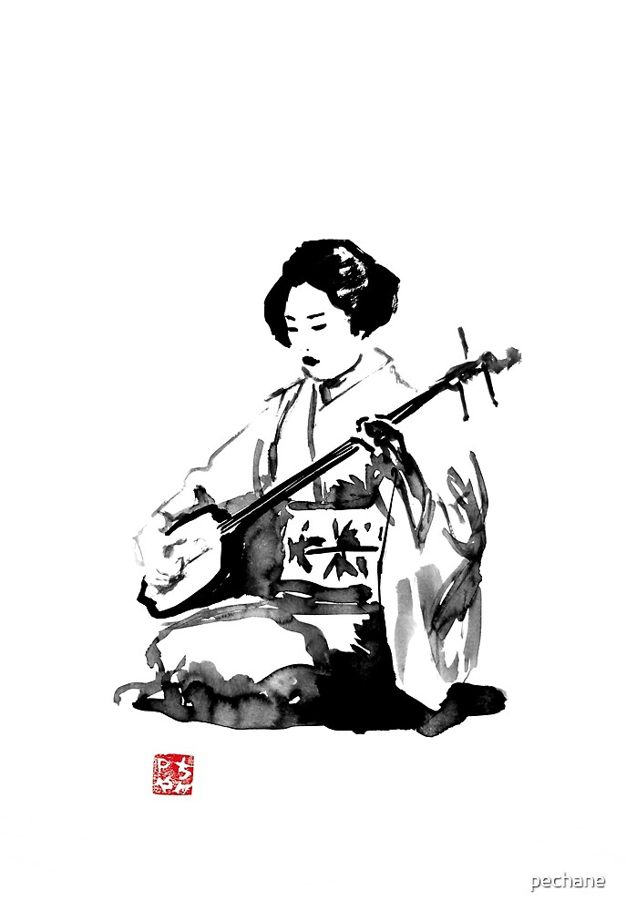 shamisen by pechane