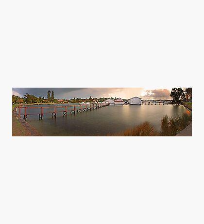 Mosman Bay Boatsheds - Western Australia  Photographic Print