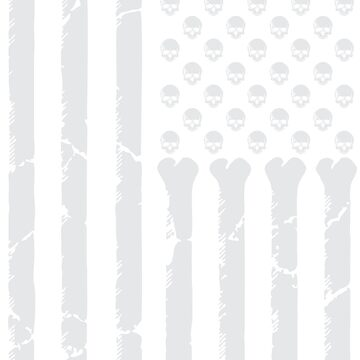 American Skulls & Bones by channeko