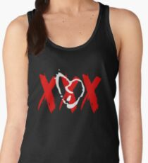 White Broken Heart XXX Women's Tank Top