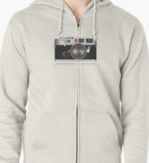 Retro camera Zipped Hoodie