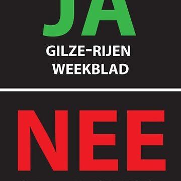 JA NEE STICKER by RaveRebel