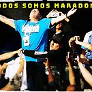Todoa Somos Maradona by clandestino