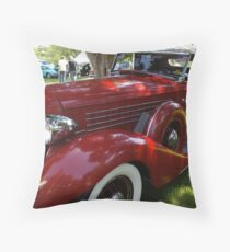 1935 Auburn 851 Cabriolet Throw Pillow