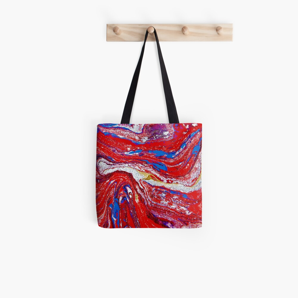 Domination Red Tote Bag