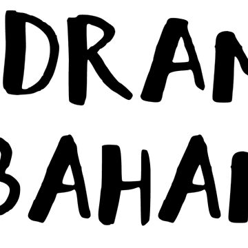 No dramas in bahamas line by arceart