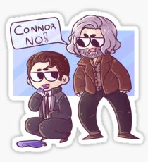 Hank and Connor Sticker