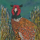 Funny Pheasant by lottibrown