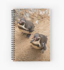 Penguin Couple Spiral Notebook