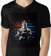 black knight Men's V-Neck T-Shirt