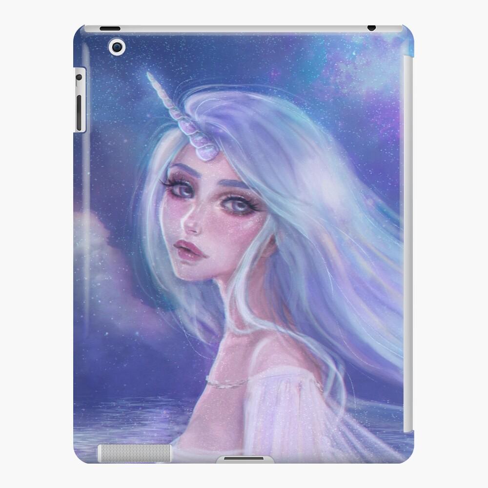 Einhorn-Mädchen iPad-Hülle & Skin