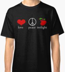 Love Peace Twilight T-Shirt Classic T-Shirt