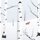 Birches West by STEELGRAPHICS
