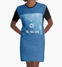 Tic Tac Ufo Graphic T-Shirt Dress