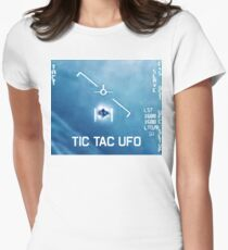 Tic Tac Ufo Women's Fitted T-Shirt