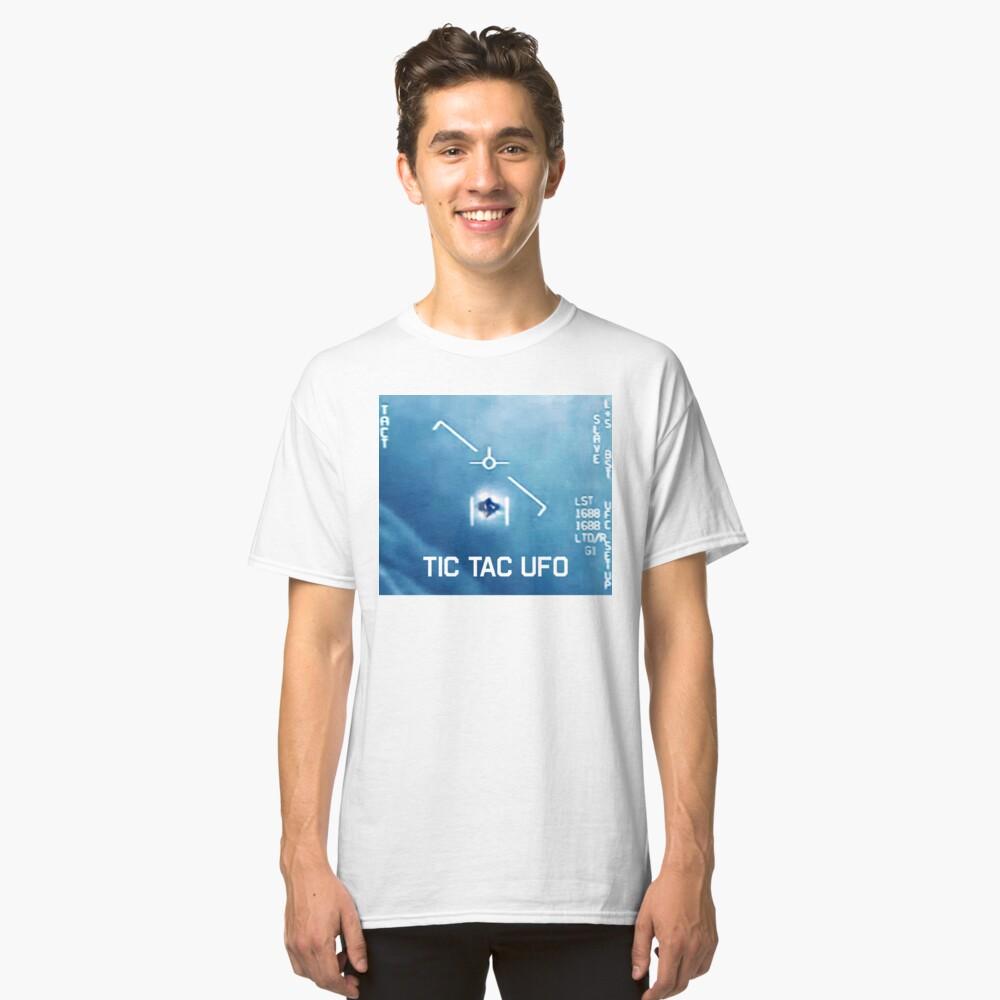 Tic Tac Ufo Classic T-Shirt Front