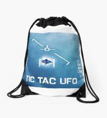 Tic Tac Ufo Drawstring Bag