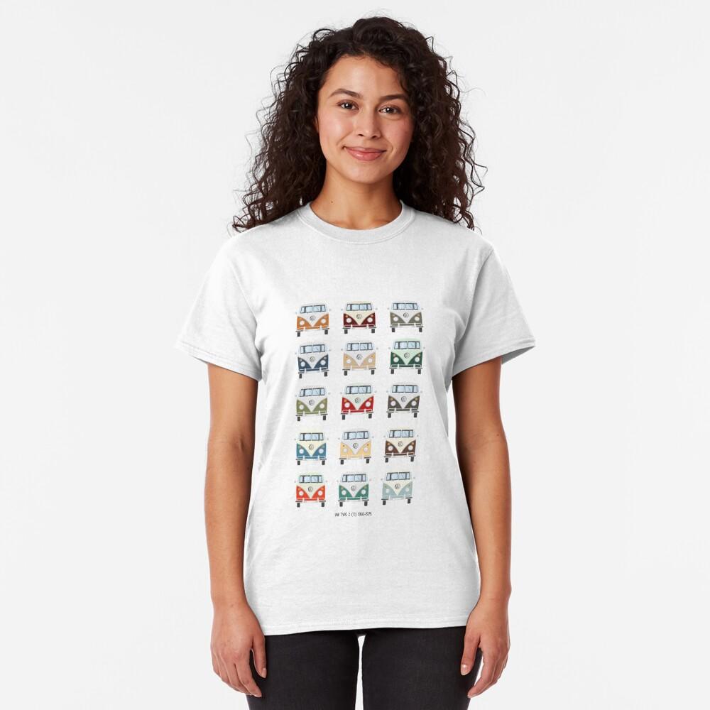 Colores VW T1 Camiseta clásica