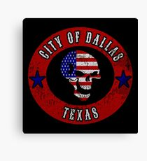 City of Dallas Texas Canvas Print