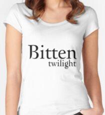 Bitten Twilight T-Shirt Women's Fitted Scoop T-Shirt