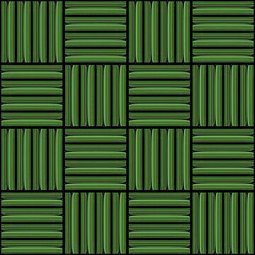 Green metallic pattern by gavila