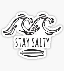Surf - Stay Salty Sticker