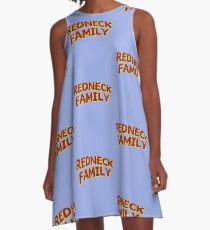 Redneck Family A-Line Dress