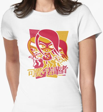 Sneaky Mascot Stencil T-Shirt